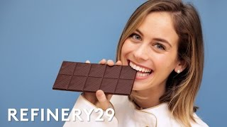 Lucie Fink Makes A Custom Chocolate Bar at Lindt Chocolate Factory | Lucie For Hire