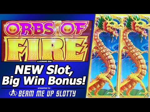 Orbs of Fire Slot - First Look, Live Play and Free Spins Big Win Bonus