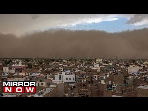 Dust Storm Hits Rajasthan - 22 Killed