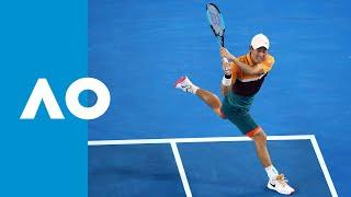 Full fifth set tiebreak: Nishikori wins a classic (4R)   Australian Open 2019
