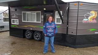 2019 8x18' Ice Castle Pouter - Smokey Hills Exclusive Model!