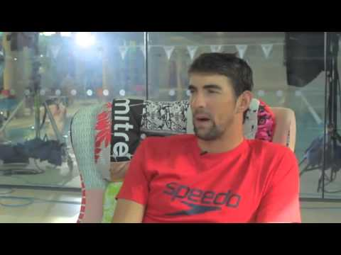 Michael Phelps - Interview