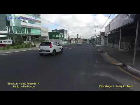 Mudanças no trânsito: Binário, Rua Aloísio Resende e Barão do Rio Branco