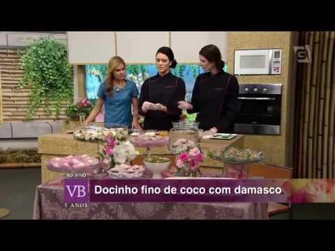 Você Bonita - Docinho fino de coco com damasco (02/10/15)
