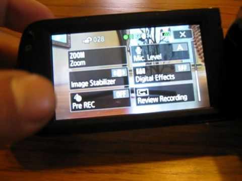 Canon Vixia HF R20 Review 1080p