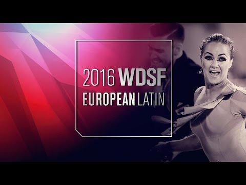 Imametdinov - Bezzubova, GER | 2016 European Latin R1 PD | DanceSport Total