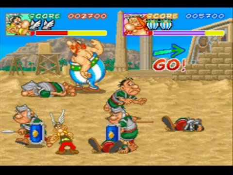 We Play - Asterix (Arcade) - 01 - Obelix - Get off me!