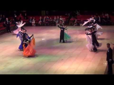 Blackpool 2013 Junior Ballroom Foxtrot Semi-final