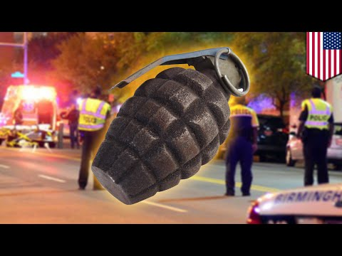 Explosive Situation: Alabama Man Gets Grenade Stuck In Leg, Operated On In Street video