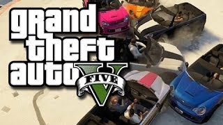 GTA 5 Online - Mini Cooper Madness!! #3 (GTA V Funny Gameplay Moments and Glitches!)