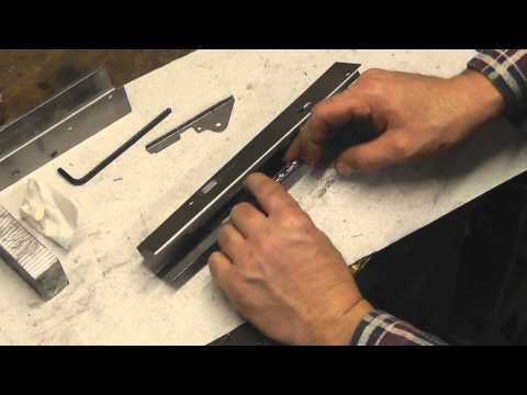 AK flat bending. making an AMD65 receiver Part 1