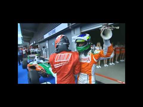 F1 – Spa 2009 after race (Sky Sport ITA)