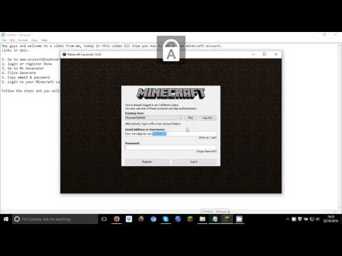 How To Get Minecraft Account For Free!!!!!!! No Survey