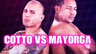 Miguel Cotto vs Ricardo Mayorga (Highlights)