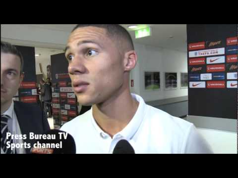 England vs Slovenia - Reactions from Danny Welbeck & Kieran Gibbs