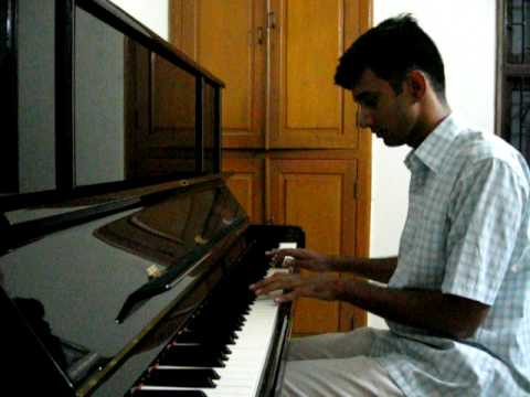 Airtel tune of A R Rahman performed on Piano by Hari