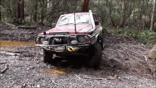 Blackwood / Wombat State Forest 4WD 4X4 Aug 2016