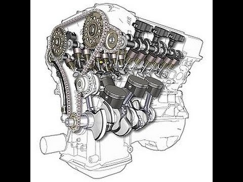2004 bmw 745 li e65 engine rebuild bad timing chain and
