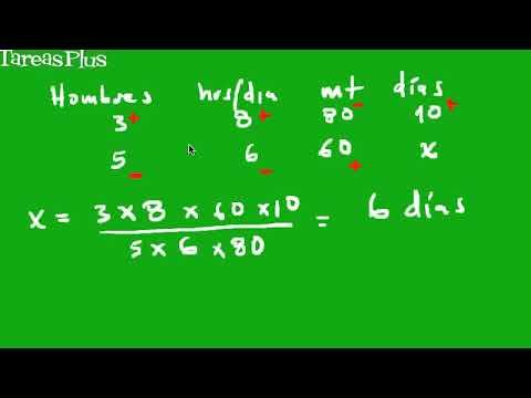 regla de tres simple y compuesta