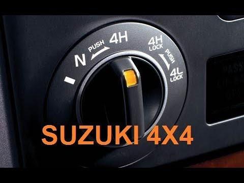 How to Use Suzuki Grand Vitara 4 Wheel Drive System - Suzuki 4X4
