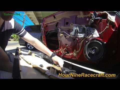 Typical Honda Lock Cylinder Removal