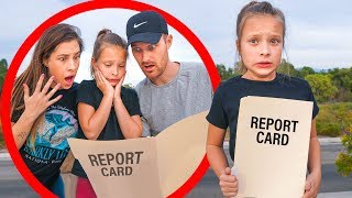 PRINCIPAL CALLED ABOUT OLIVIA'S SCHOOL REPORT CARD! 🤭