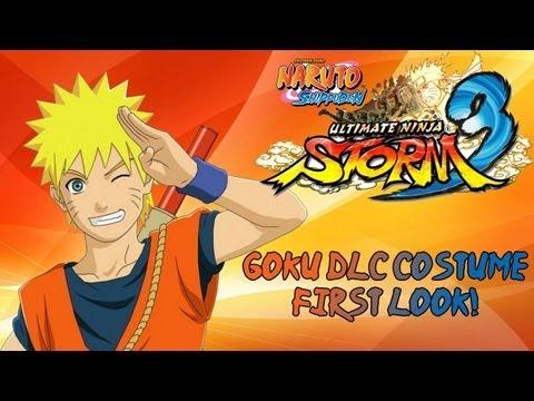 Naruto Shippuden Ultimate Ninja Storm 3 - Goku Costume DLC Match