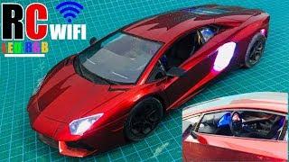 Độ Xe Điều Khiển Thường Thành Xe Điều Khiển Bằng WIFI, Full Led RGB, Camera FPV