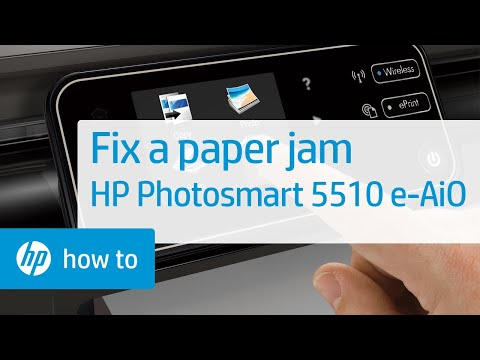 how to take out paper jam from brother printer