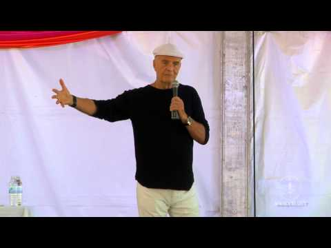 Wayne Dyer at the Wanderlust Festival Speakeasy - Squaw Valley CA