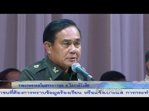 Thai Coups Makers Detain Ex-PM Yingluck After Coup!!!
