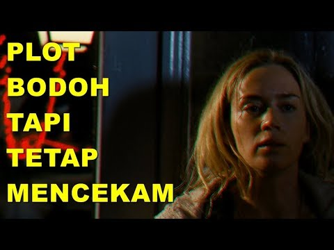 KENAPA A QUIET PLACE BAGUS TAPI NGESELIN? (SPOILER REVIEW) - Cine Crib Vol. 99 Extended