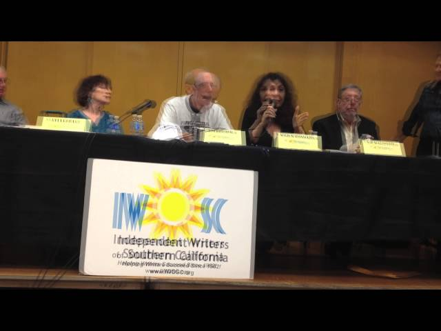 Karen Kondazian discusses The Whip at the Independent Writers of Southern California Panel