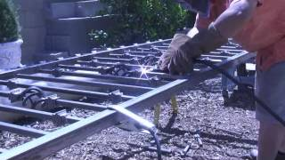 Welding Fence Panels