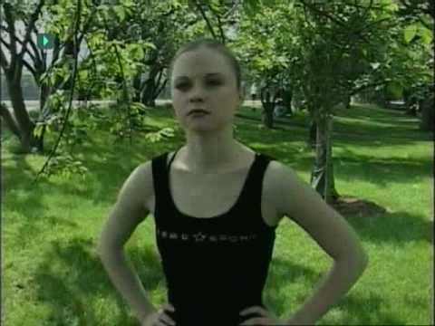 Elena Lev - beautiful and amazing girl with hoops - YouTube