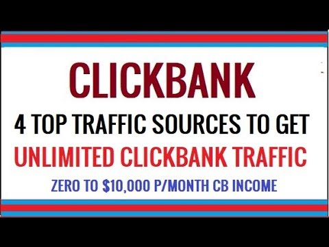 How To Promote Clickbank Products Without A Website With 4 Fast Traffic