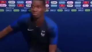 Pogba dance shaku shaku after world cup winner