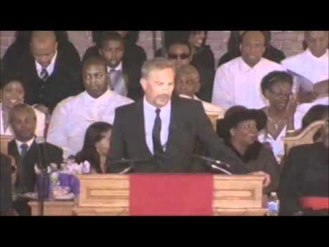 Kevin Costner Remarks at Whitney Houston Funeral