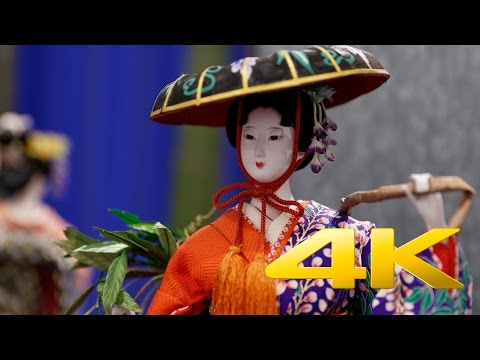Japanese traditional dolls - 人形 - 4K Ultra HD