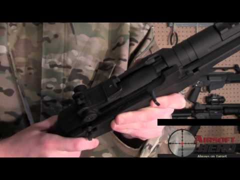 Airsoft Hero Review: Cybergun M14 Socom Airsoft Electric Rifle  -ASTKilo23-