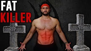 10-Minute CRAZY Fat Burning Ladder Workout (HIIT Workout Game!!)