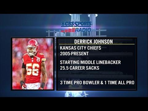Kansas City Chiefs LB Derrick Johnson Joins Tiki and Tierney