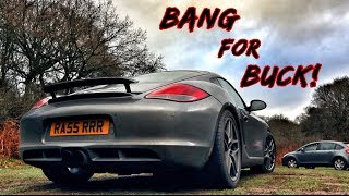 DRIVING THE UK'S *CHEAPEST* PORSCHE CAYMAN S! WHAT A CAR!