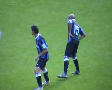Cristian Chivu debut with Inter