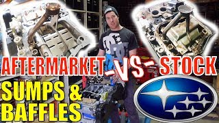EJ SUMPS, BAFFLES & PICKUPS COMPARISON & HOW-TO - TIGWERKS & KILLER BEE vs STOCK