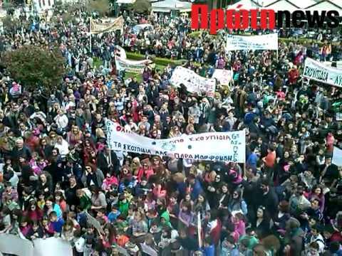 Πύργος: Πορεία διαμαρυρίας για τα σκουπίδια