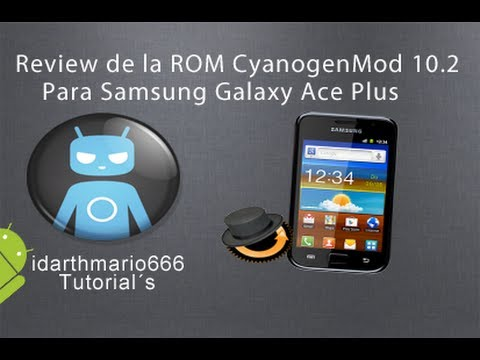 Review:ROM CyanogenMod 10.1 Para Galaxy Ace Plus