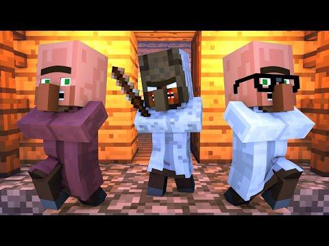 Granny vs Villager Life 7 - Minecraft Animation