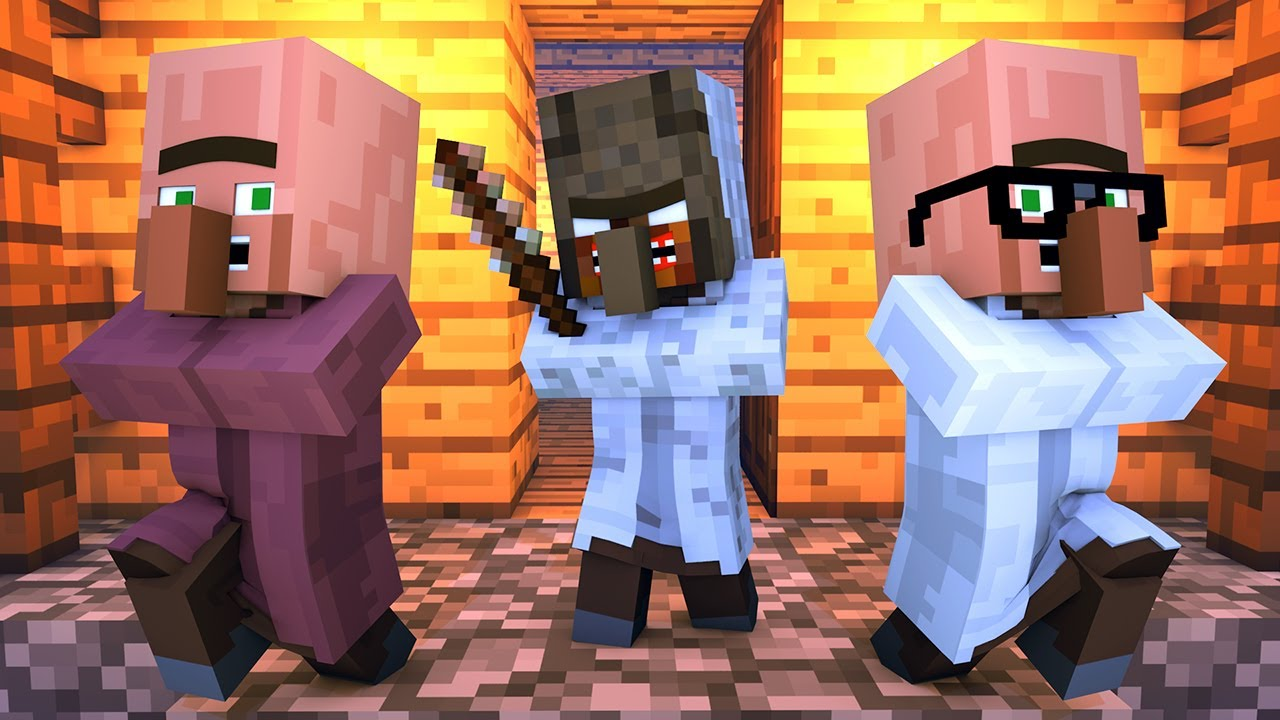 Granny vs Villager Life 7 - Granny Horror Game Minecraft Animation