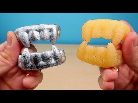Зубы Вампира из Галлия против Зубов из Сахара! Хеллоуин, Halloween! alex boyko